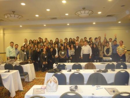Grupo de Alunos Dr Jurandir Encontro Damon System 2011