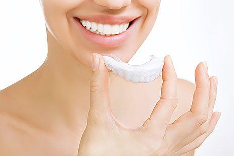 Odontologia Clareamento dentes em casa